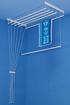 Obrázek z ALDOTRADE Stropní sušák na prádlo Ideal 6 tyčí 100 cm - Bílá